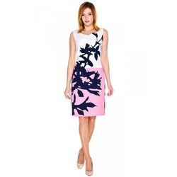 Sukienka z dużym kwiatem - De Facto