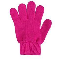 Rękawiczki KLIPPA cienka włóczka bawełniana różowe