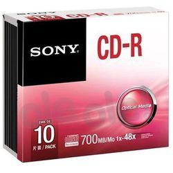 Sony CD-R 48xSpeed (Slim Case 10szt)