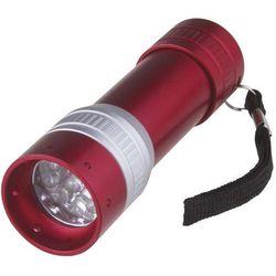 Latarka EMOS 9 LED Czerwony