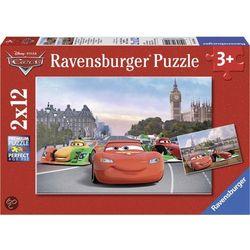 Puzzle Zygzak McQueen i przyjaciele 2x12