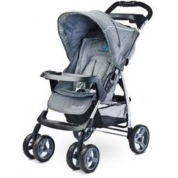 Caretero Monaco NOWOŚĆ 2016 wózek spacerówka grey