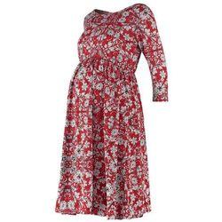 Mama Licious MLVALENTI Sukienka z dżerseju snow white