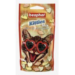 Beaphar Kitties Mix 32,5g - przysmak dla kota o smaku ryby i sera z tauryną