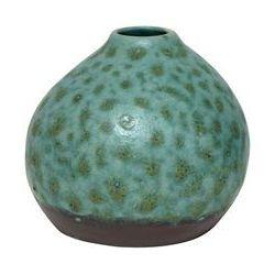 HK Living Ceramiczny wazon zielony CER0045