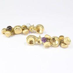 Złote kolczyki K466