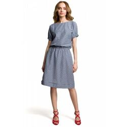 4fcb2ad797e Suknie i sukienki, wzór kratka (od Moe M376 Sukienka w krateczkę ...