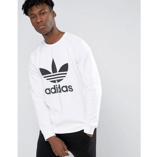 adidas Originals Trefoil Crew Sweatshirt AY7794 White