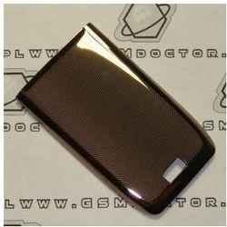 Obudowa Nokia E51 tylna / pokrywa baterii stalowa miedziana