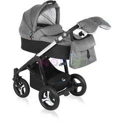 Wózek wielofunkcyjny Husky Lupo Baby Design (czarny + winter pack)
