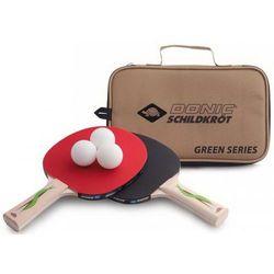 Zestaw 2 rakietek do tenisa stołowego DONIC GREEN LINE 400