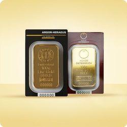 100 g Sztabka złota CertiPack