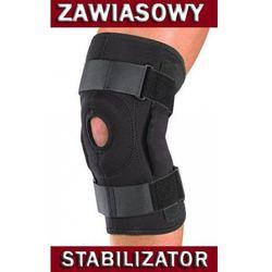 Zawiasowy stabilizator kolana - ruchome szyny
