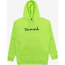 bluza DIAMOND - Shimmer Og Scrpit Hoodie Safety Green (SFGN) rozmiar: XL