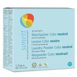 Sonett Neutral proszek do prania tkanin kolorowych bezzapachowy 1,2 kg