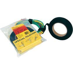 Taśma rzepowa Do wiązania element z pętelkami i haczykami (DxS) 10000 mm x 20 mm Czarny 3M 3M Scotchflex Universalklettband 10 m