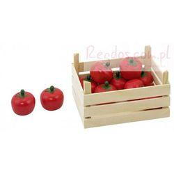 Warzywa w skrzynce, pomidory, 10 elementów.