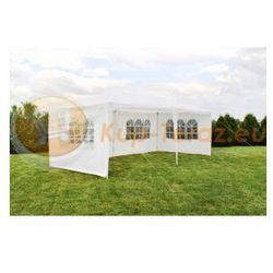 Pawilon Namiot Ogrodowy 3x6m + 6 Ścianek Biały 3x6