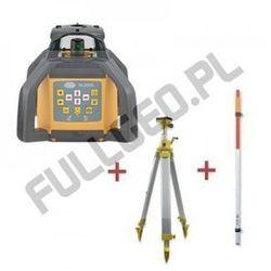 NL500G DIGITAL Zielony Laser Niwelator Laserowy X/Y + Statyw korbowy + Łata