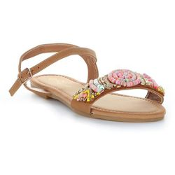 9d706a0097353 Oryginalne Sandały Damskie ze zdobieniami firmy Gatisa Beżowe (kolory)