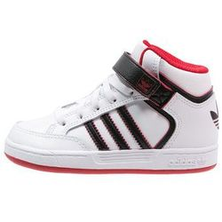 adidas Originals VARIAL MID Tenisówki i Trampki wysokie white/core black/scarlet