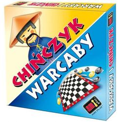 Warcaby i Chińczyk (gra podwójna) - gra planszowa