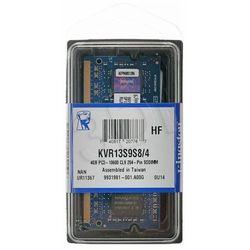 KINGSTON SODIMM DDR3 KVR13S9S8/4- wysyłka dziś do godz.18:30. wysyłamy jak na wczoraj!