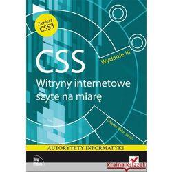 CSS Witryny internetowe szyte na miarę (opr. miękka)