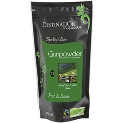 Herbata Zielona Gunpowder 100g - Destination