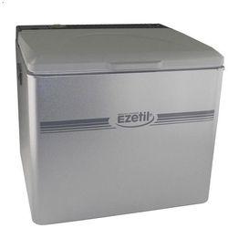 Lodówka turystyczna, samochodowa, absorpcyjna Ezetil EZA4000, 12 V, 230 V, zasilana gazem, 42 l, Szary