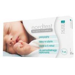 Test ciążowy NORDTEST HCG płytkowy 1szt.