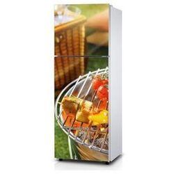 Naklejka na lodówkę - Grill - Naklejka laminowana