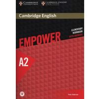 Cambridge English Empower Elementary Workbook with Answers with Downloadable Audio (opr. miękka)