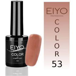 Lakier hybrydowy EIYO Natural - kolor nr 53 - Łosoś Pastela - 15 ml Lakiery hybrydowe