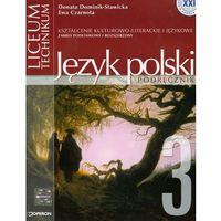 Język polski 3 Podręcznik Romantyzm (opr. miękka)