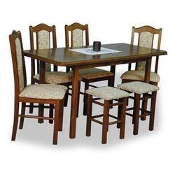 Zestaw TANA (4 krzesła/2 taborety/stół 70x120/150)