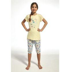 68bd8e6c3f0f76 Cornette 251/68 kids dragonfly żółty piżama dziewczęca