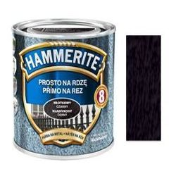 Farba Prosto Na Rdzę - Efekt Młotkowy Czarny 0,7L Hammerite