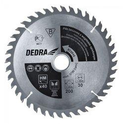Tarcza do cięcia DEDRA H600100 600 x 30 mm do drewna + DARMOWY TRANSPORT!