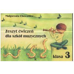 Zeszyt ćwiczeń dla szkół muzycznych klasa 3 (opr. miękka)