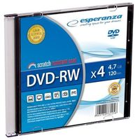 DVD-RW ESPERANZA 4,7GB X4 - SLIM CASE 1 SZT.