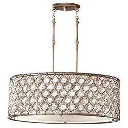 LAMPA wisząca FE/LUCIA/P/A Elstead FEISS żyrandol OPRAWA kryształowa crystal srebrny oksydowany