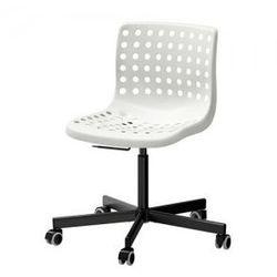 SKALBERG / SPORREN Krzesło obrotowe, biały, czarny