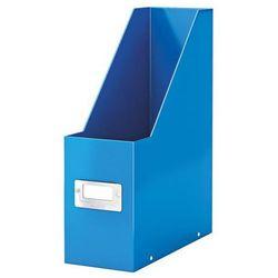 Pojemnik na dokumenty Leitz Click&Store Wow 6047 metaliczny niebieski