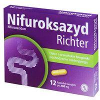 NIFUROKSAZYD Richter 200 mg 12 kapsułek