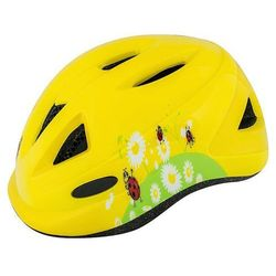 kask R2 Armour Kid's - ATH05A/Yellow/Ladybug