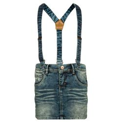 Name it NITASTRID Spódnica jeansowa medium blue denim