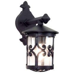 Zewnętrzna LAMPA ścienna HEREFORD BL8 Elstead KINKIET metalowa OPRAWA ogrodowa IP23 outdoor czarny