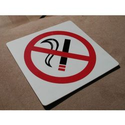 Piktogram, Symbol, Znak - Zakaz Palenia 15x15cm