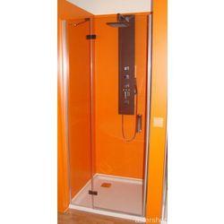 Drzwi prysznicowe z 1 ścianką 90cm lewe BN2815L
